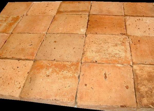 carreaux terre cuite, vielle tomette ancienne