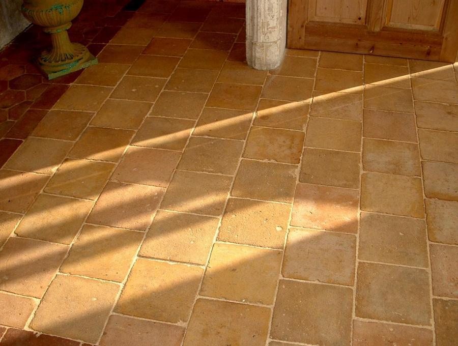 Antique Light Tone French Terra Cotta Tiles