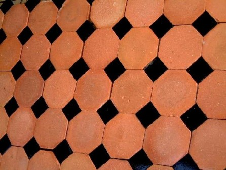 Octagonal tiles for Carrelage cabochon