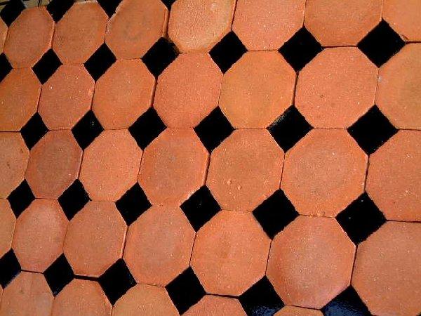 octagonal tiles. Black Bedroom Furniture Sets. Home Design Ideas