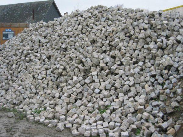 Pavés granit