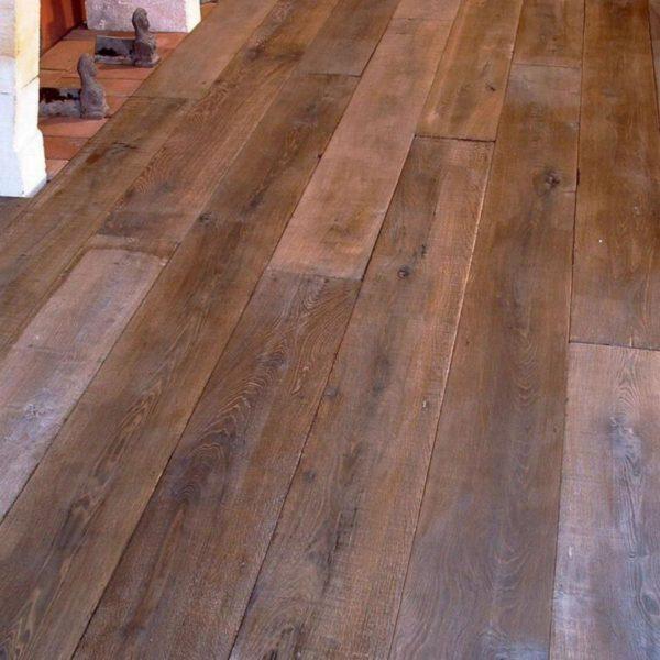 """carbone plancher vieilli, parquet CHENE / carbon """"antiqued"""" oak"""