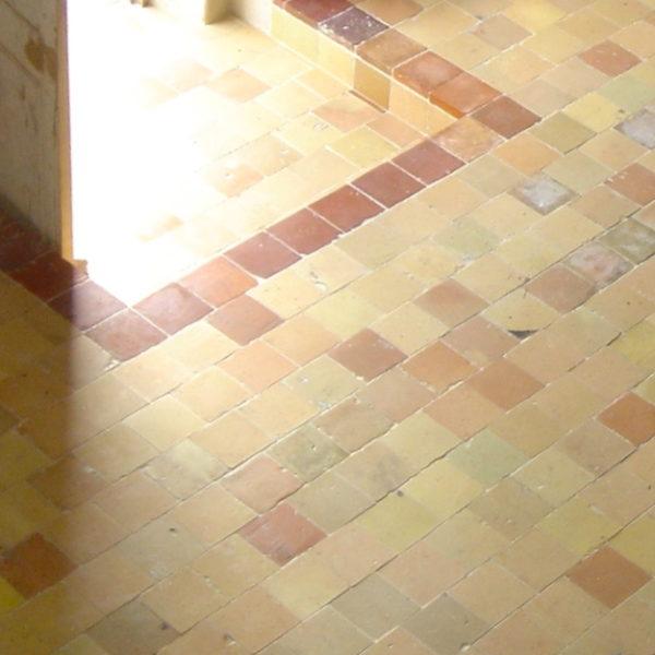 carreaux terre-cuite, vieille tomette ancienne