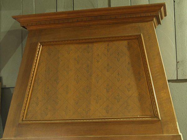 trumeau de cheminée ancienne en bois