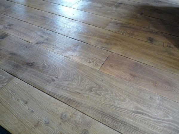 French oak floorboards
