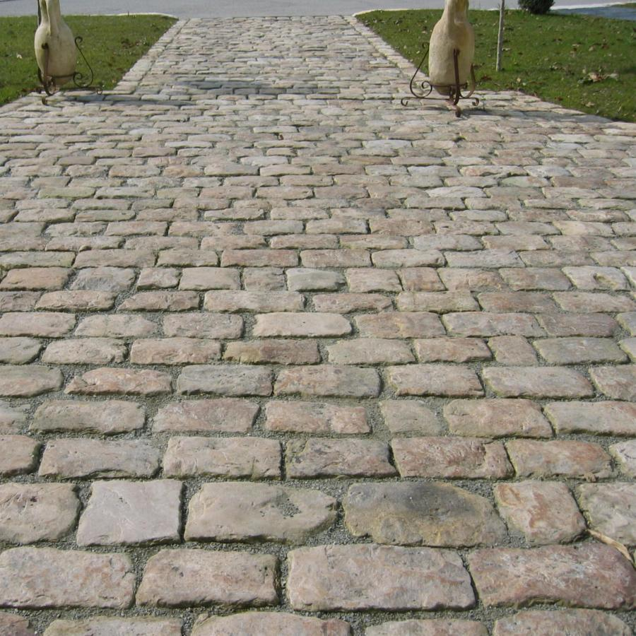 Antique Reclaimed French Cobblestone Setts