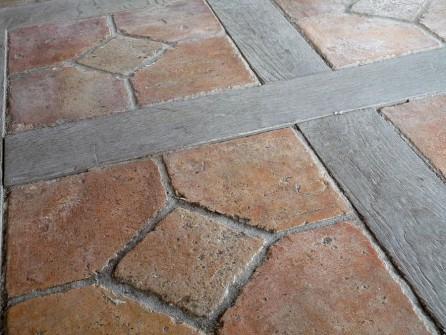 Antique Terracotta Amp Oak Floors