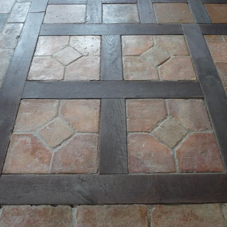 antique terracotta oak floors. Black Bedroom Furniture Sets. Home Design Ideas