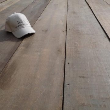Wide Reclaimed Keruing Floorboards