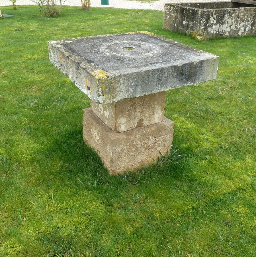 Limestone Table
