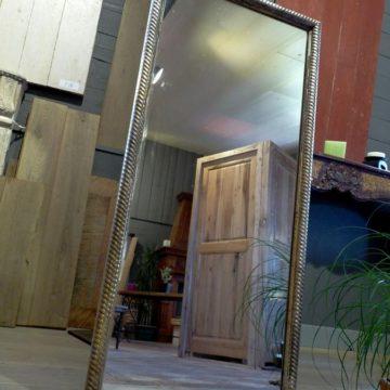 Miroir ancien en bois