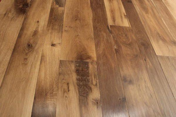 plancher chene ancien rabote / antique French oak floorboards
