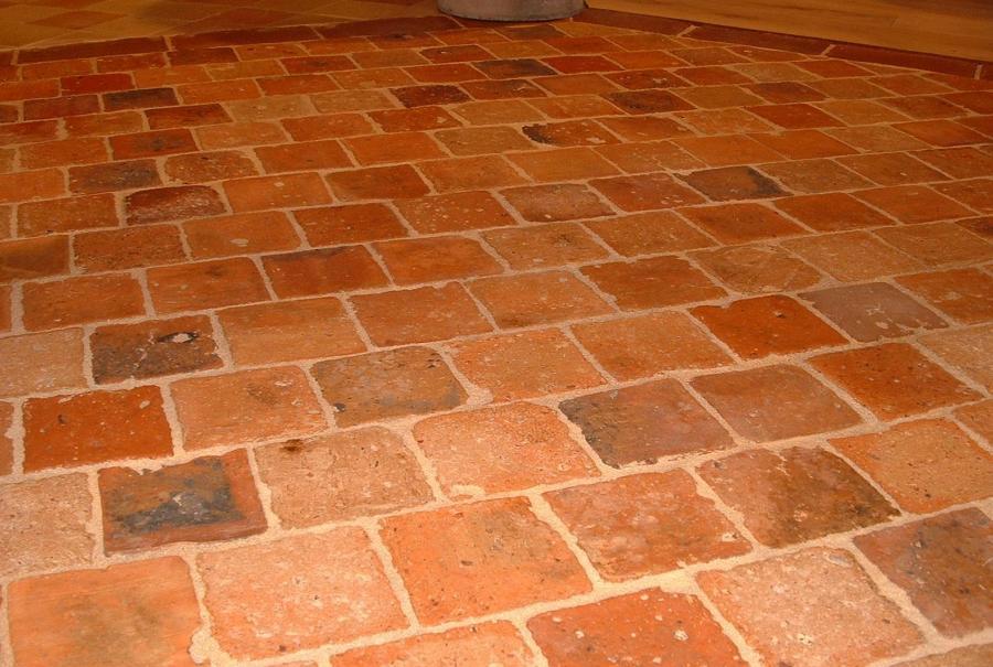 Antique Terra Cotta Tiles Bca Mat 233 Riaux Anciens