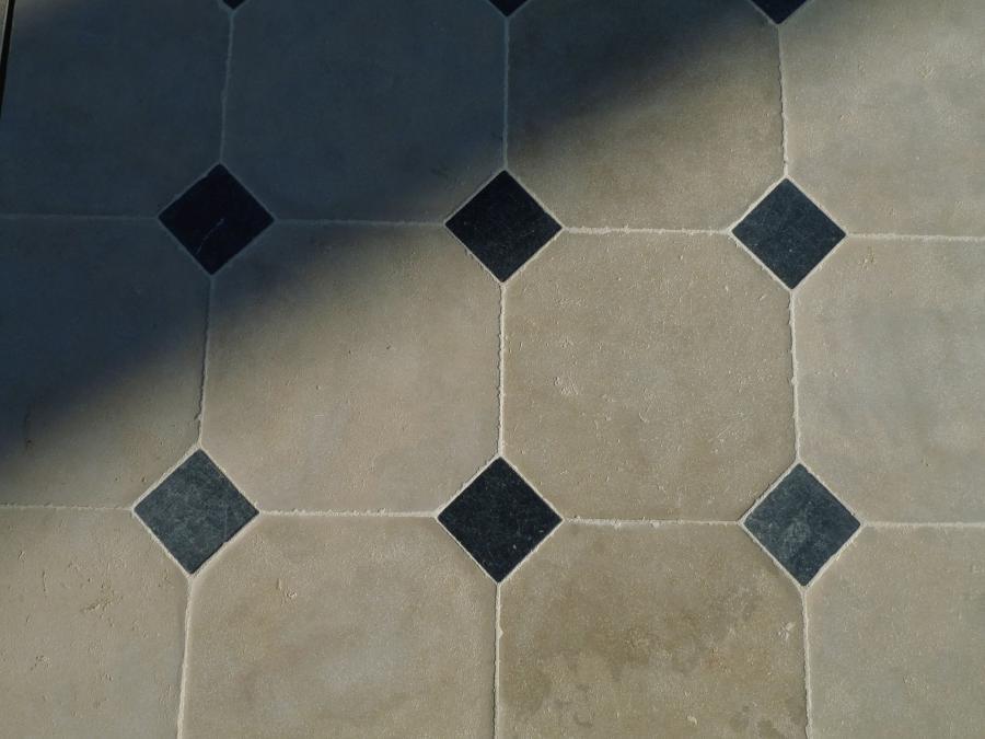Cathedral Limestone Cabochon Floor Convincing Natural