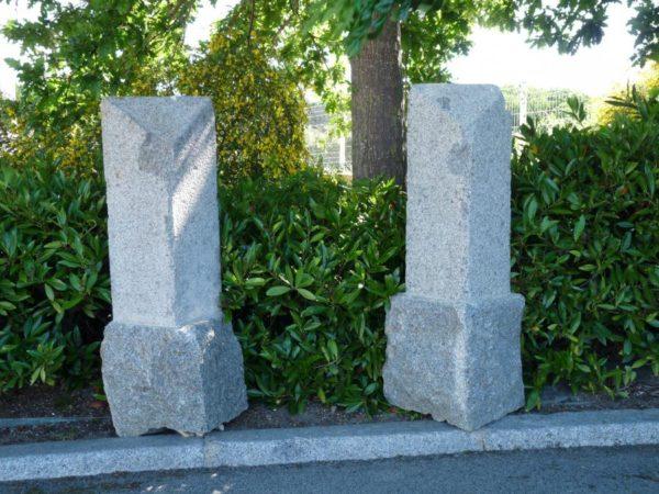 Borne en granit