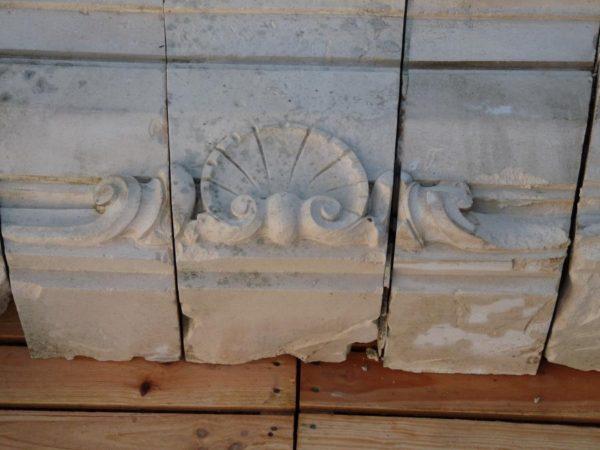 linteau pierre calcaire