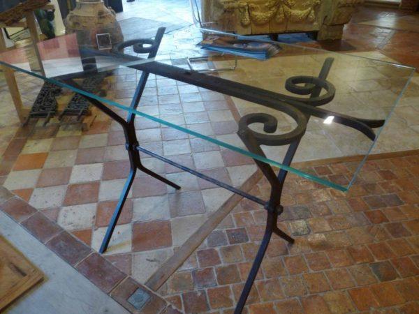 table haute vert