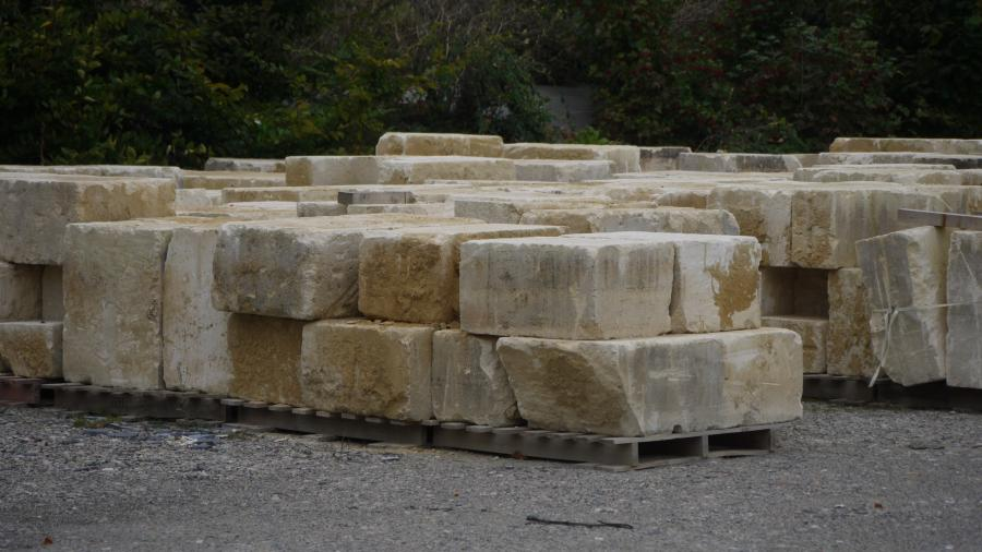 Antique Reclaimed French Limestone Ashlar Blocks Bca