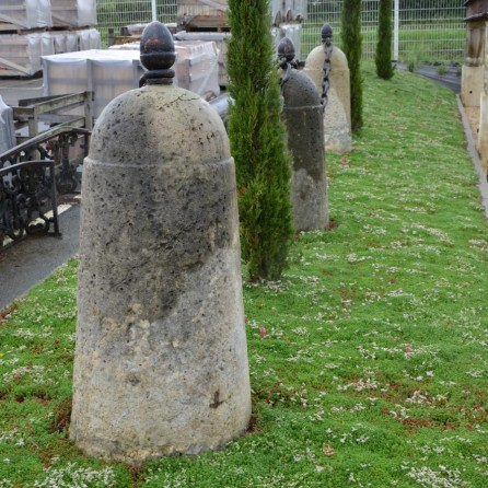 Antique Limestone Bollards