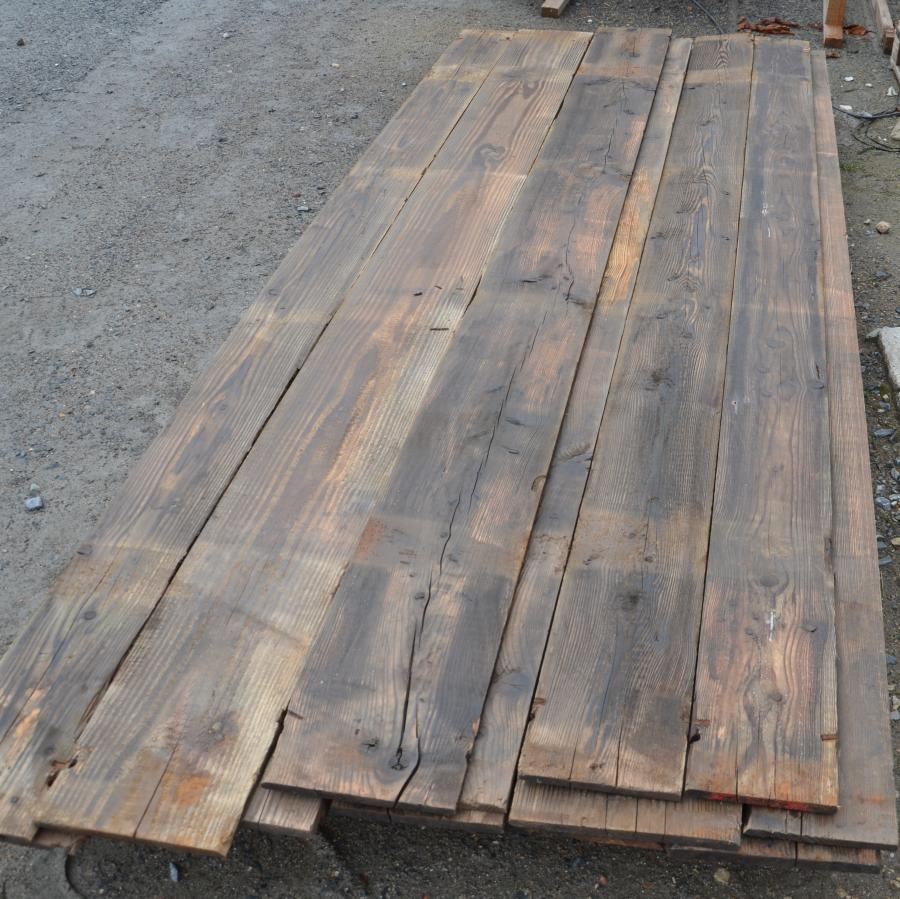 Reclaimed Pine Wagon Board Cladding For Interior Rustic