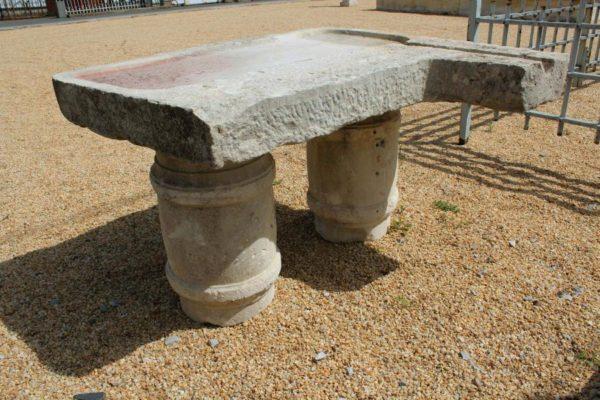 evier pierre calcaire