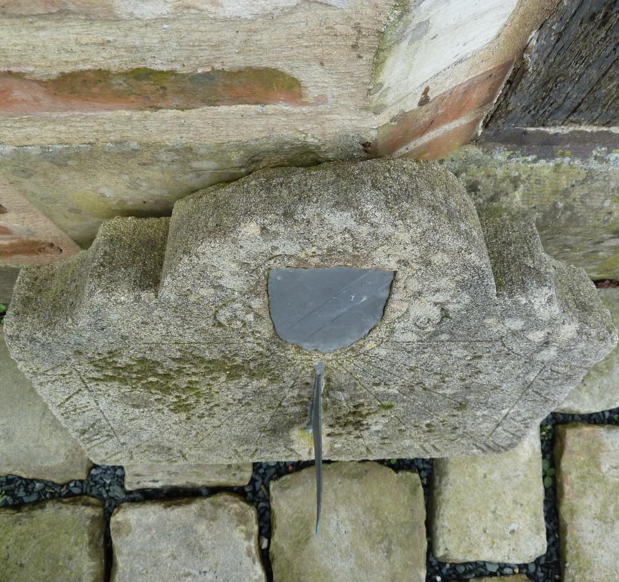 Weathered Stone Sundial