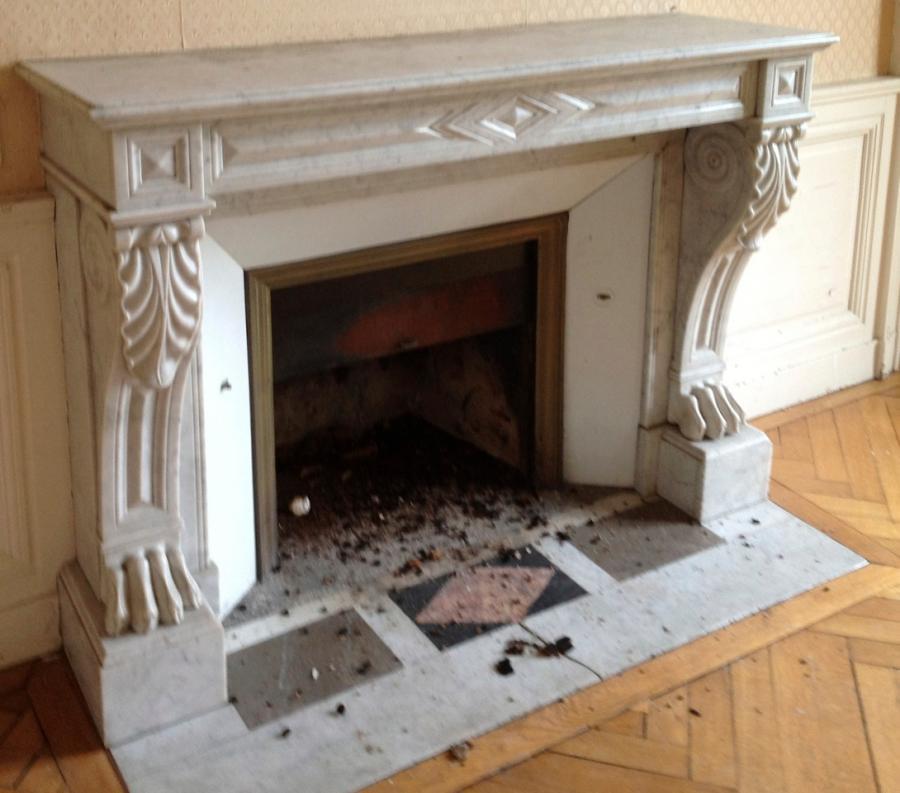 antique marble fireplace bca mat riaux anciens