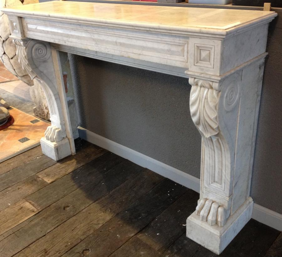 Antique Marble Fireplace Bca Mat 233 Riaux Anciens