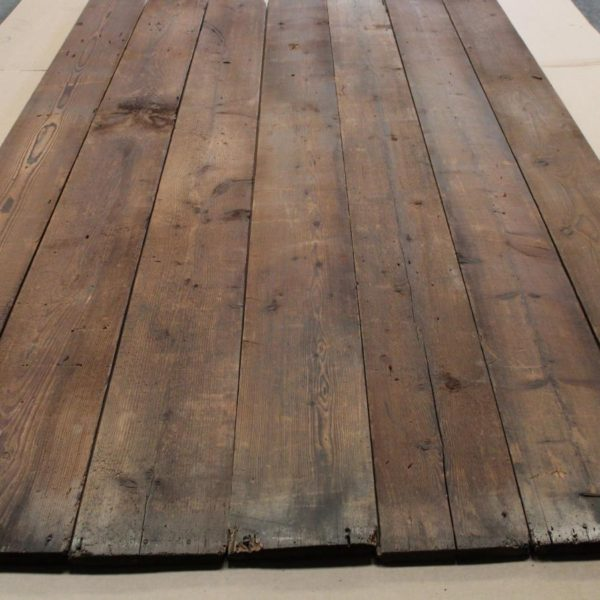 plancher ancien sapin rouge