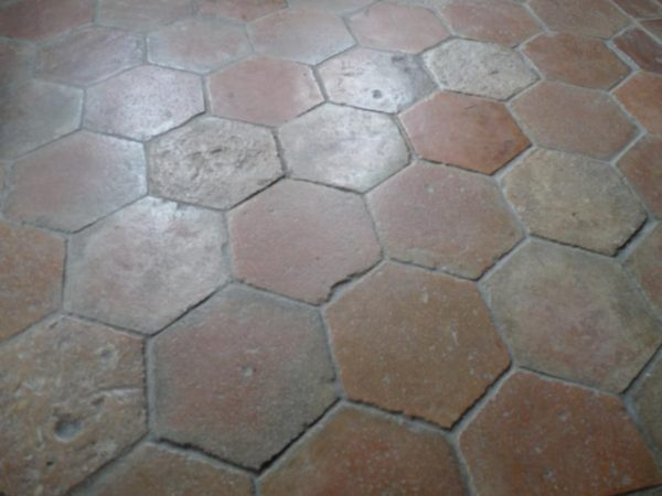 Antique Hexagonal Terracotta Permanent Stocks Available