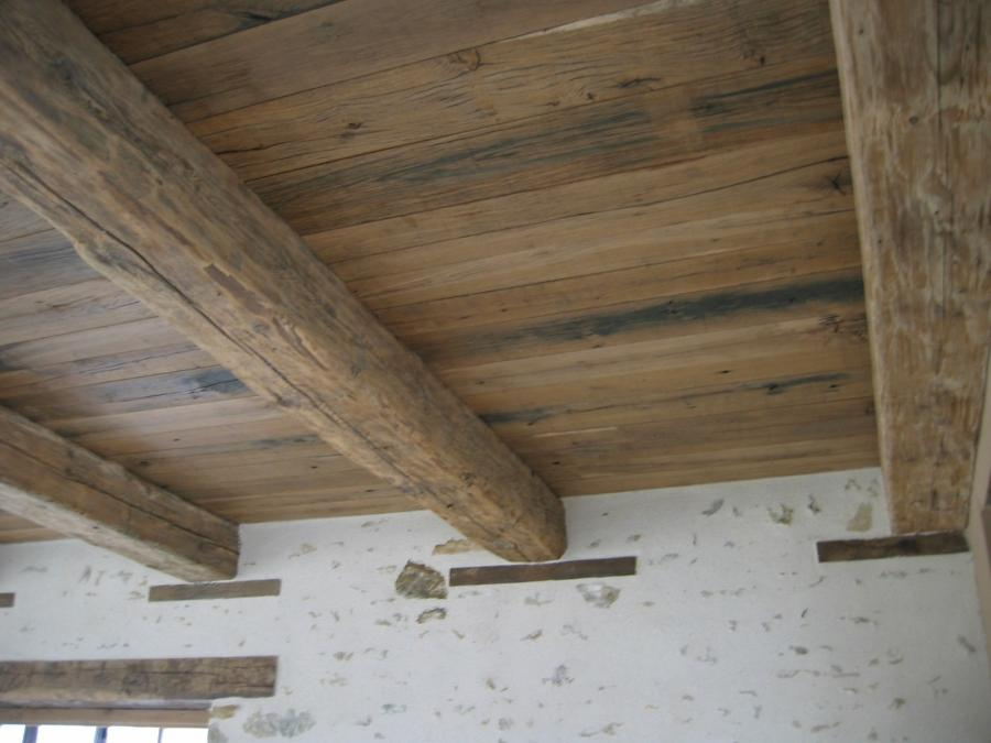 Antique Beamed Ceilings Bca Mat 233 Riaux Anciens