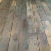 Brushed reclaimed oak wagon boards