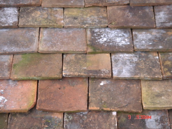 Antique French roof tiles