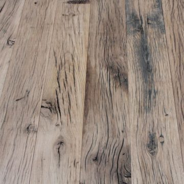 French railway oak rustic planed boards from france