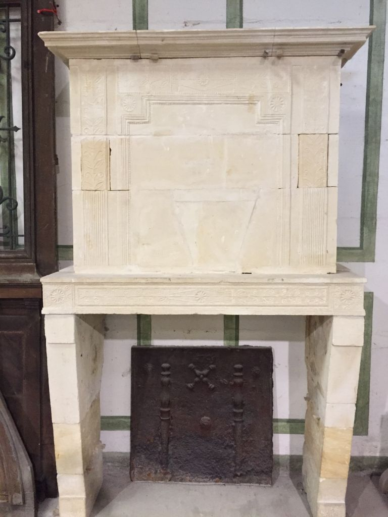 French Directoire Fireplace Bca Mat 233 Riaux Anciens