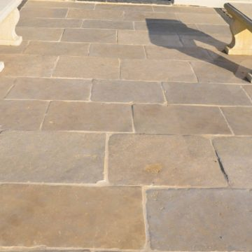 Limestone flagstones