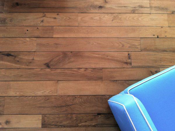 Reclaimed french oak parquet