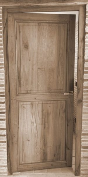 antique doors in reclaimed french oak at BCA
