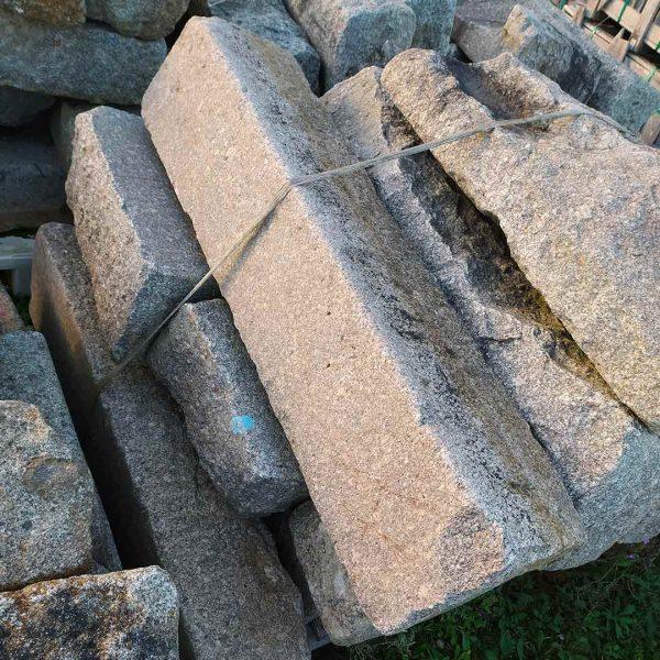 antique granite kerb stones at BCA