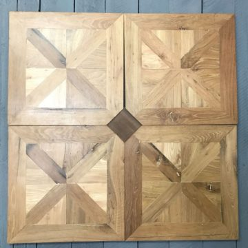 antique oak floor panels from france