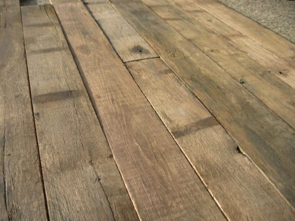 antique oak wagon boards