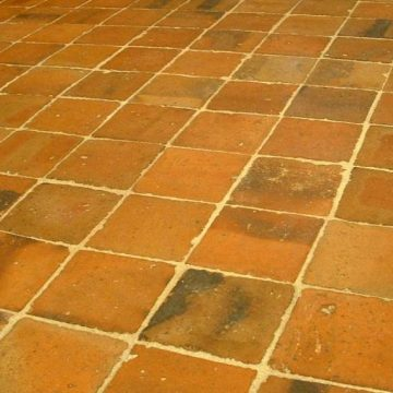 antique reclaimed terracotta tiles