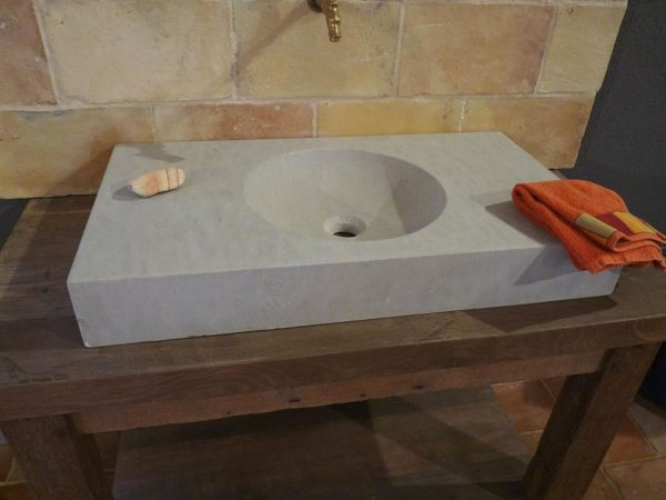 grey washbasin or sinks
