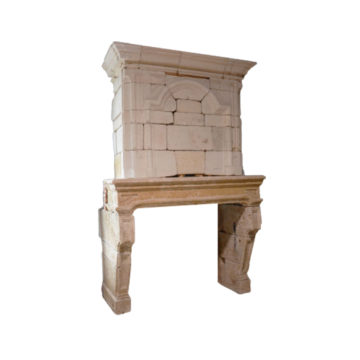 Louis XIV fireplace