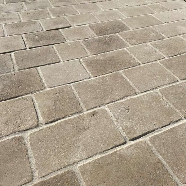 new beige color pavers