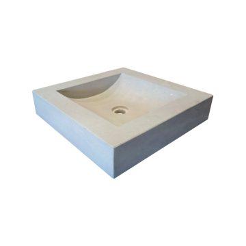 New square stone washbasin