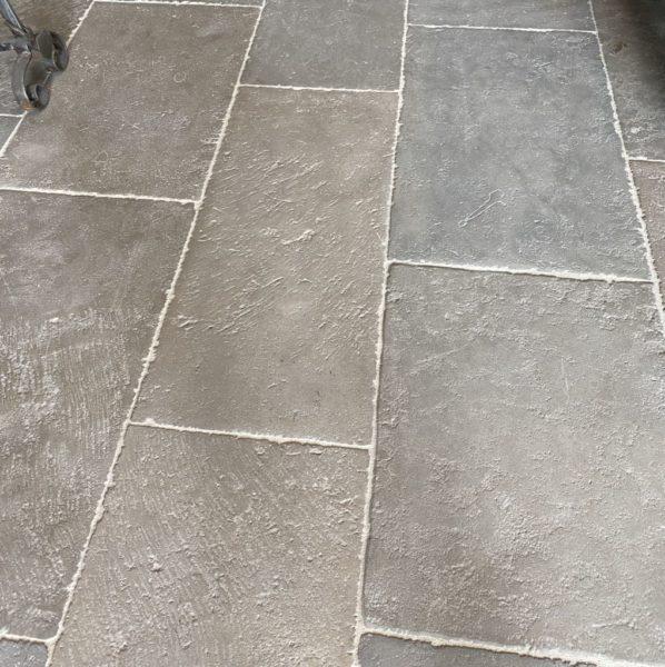 pre-waxed limestone flooring