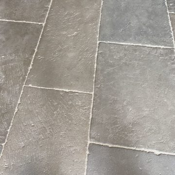 pre-waxed stone flooring