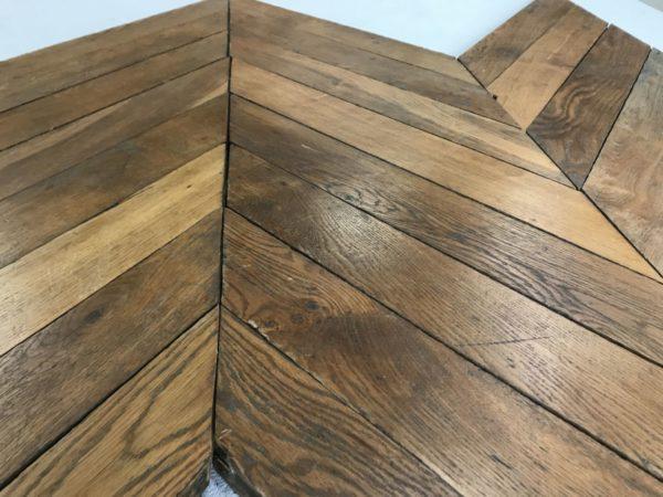 reclaimed antique oak point de hongrie
