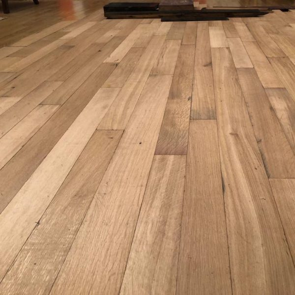 reclaimed traditional french oak parquet